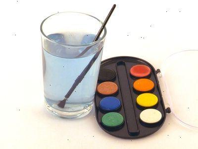 Hvordan male akvarell